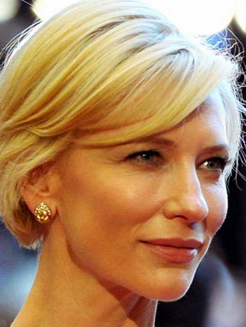 Female Celebrities with Short Hair-9