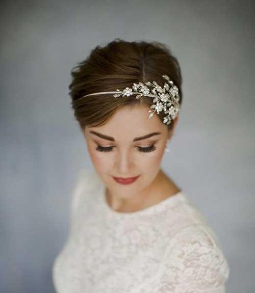 Wedding Short Hairstyles-9