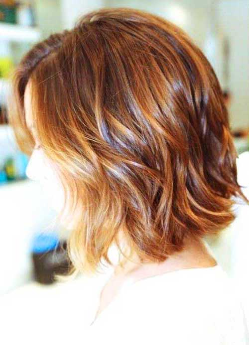 Short Haircuts Ideas Wavy Hairstyles