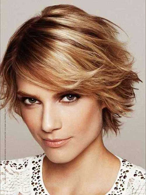 Short Straight Hair Wavy Look Ideas