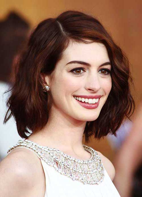 Short Wavy Bob Hair Ideas