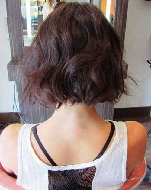Very Short Wavy Hairstyles Ideas for Women