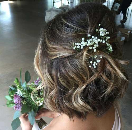 Wedding Short Hair