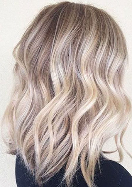 Blonde Balayage Ash Ombre Highlight Funky