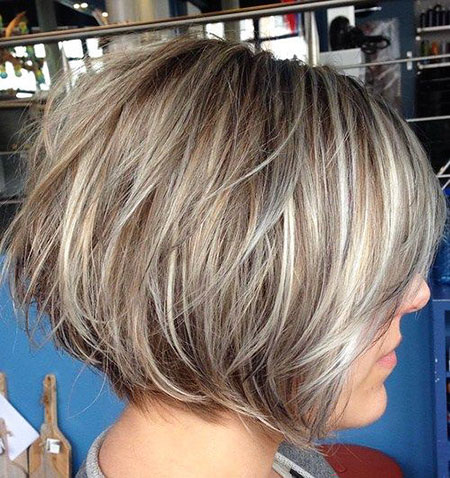 Blonde Balayage Layered Bobs 2017 Bob