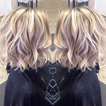 Short Blonde Wavy Hairstyles 2017 2018 Short Blonde
