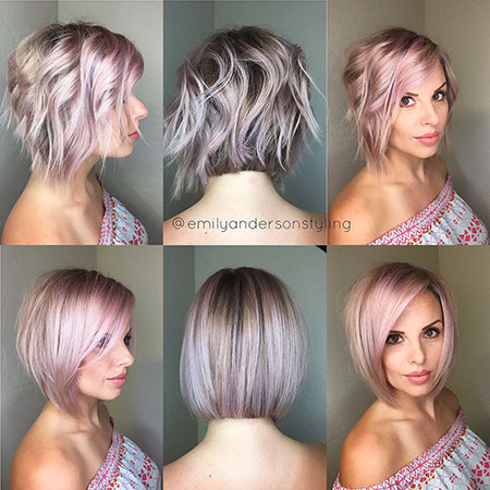 Short Layered Bob Hair