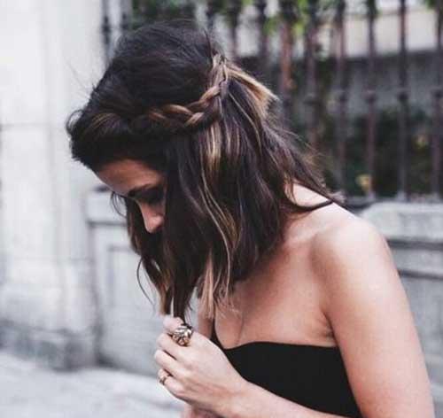 Short Hair Updos-11
