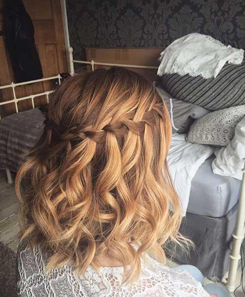 Short Hair Updos-15