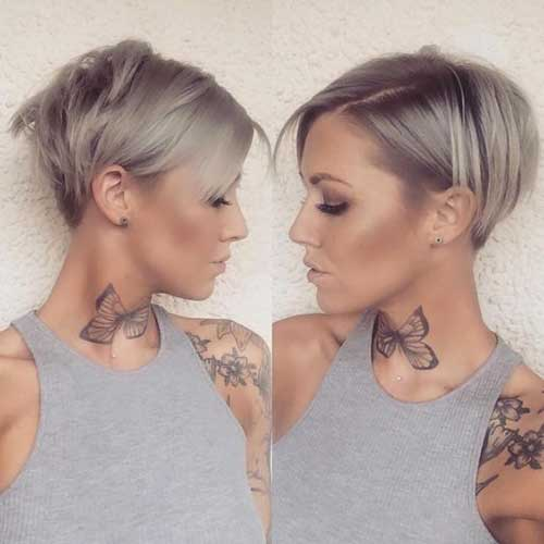 Short Haircuts for Fine Hair-19