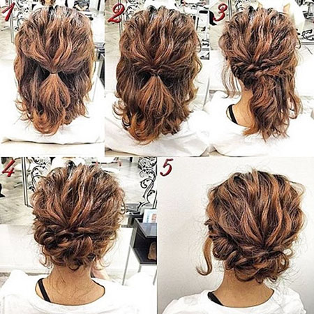 Haircuts for Short Curly Hair, Hair Hairtyles Curly Updos