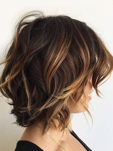 Highlights Choppy Wavy Caramel