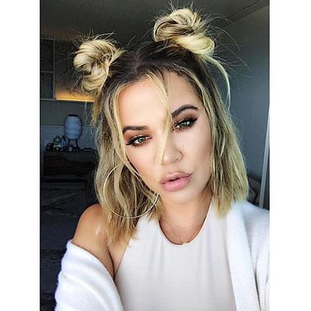 Khloe Kardashian Hair Wavy