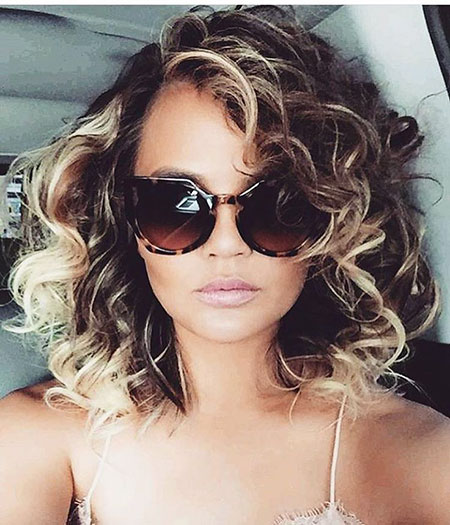 Curly Hair Teigen Sunglasses