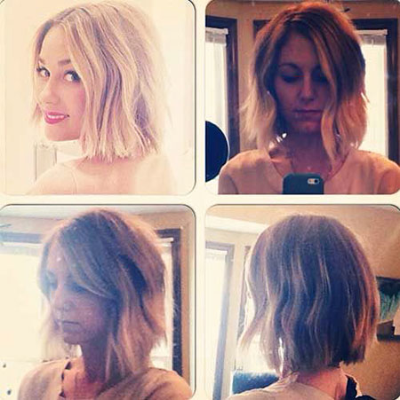 Ombre Hair Bob Blonde