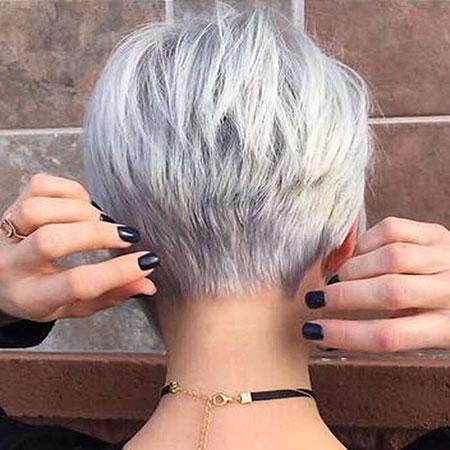 Short Pixie Hair Undercut