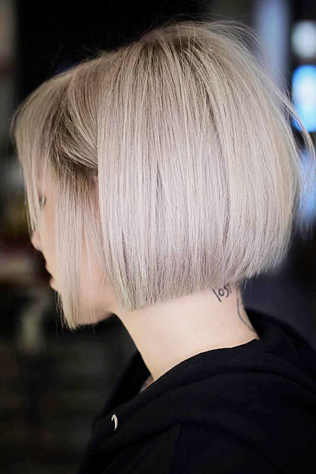 Blonde Bob Straight Lob