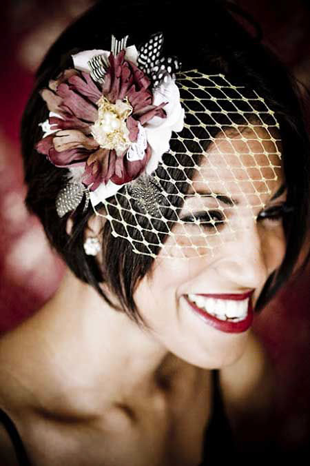 Veil Wedding Bridal Birdcage
