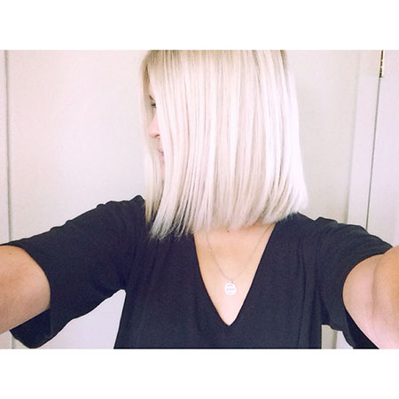 Blonde Hair Bob Short