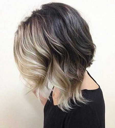 Blonde Hair Ombre Bob
