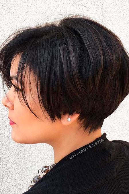 Short Bob Trendy Hair