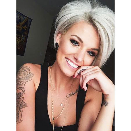 Short Pixie Hair Stacked