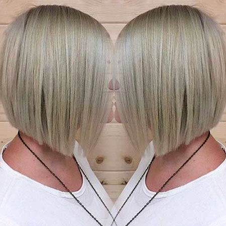 Bob Blonde Straight Cut