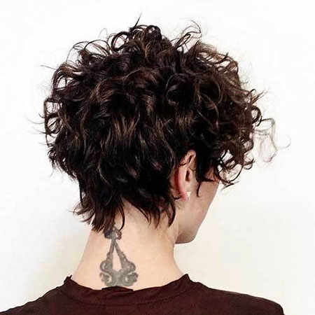 Curly Short Bob Hairtyles