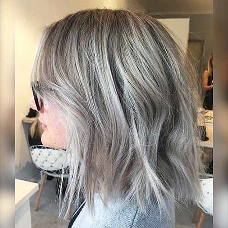 Hair Blonde Balayage Grey