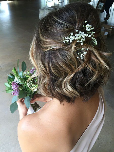 Layered Wedding Hairtyle, Wedding Hair Hairtyles Women