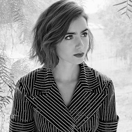 25 lily collins short hair the best short hairstyles for
