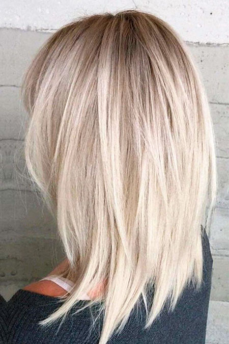 Blonde Hair Balayage Bob