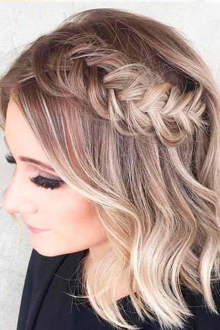 Hair Color Trendy Prom