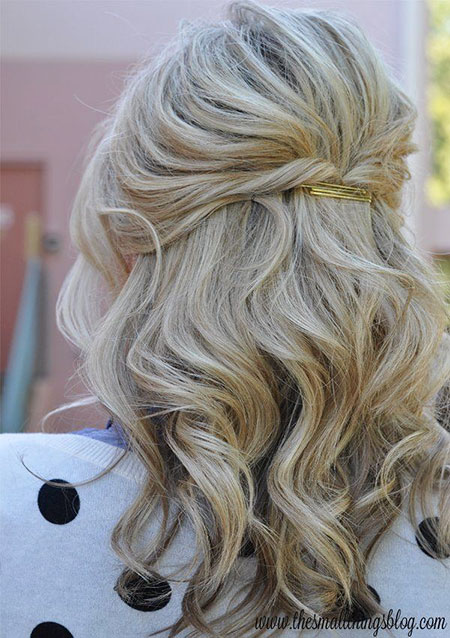 Wedding Hair Half Up