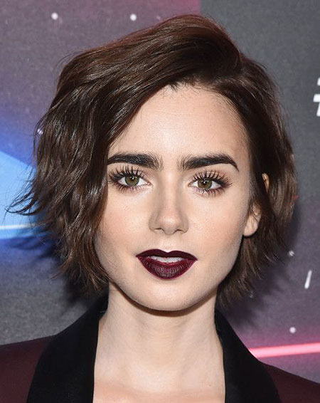 Lily Hair Collins Short