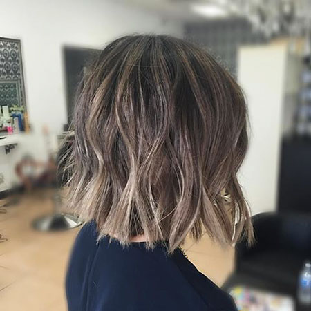 Balayage Bob Blonde Hair