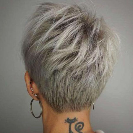 Short Hair Pixie Undercut