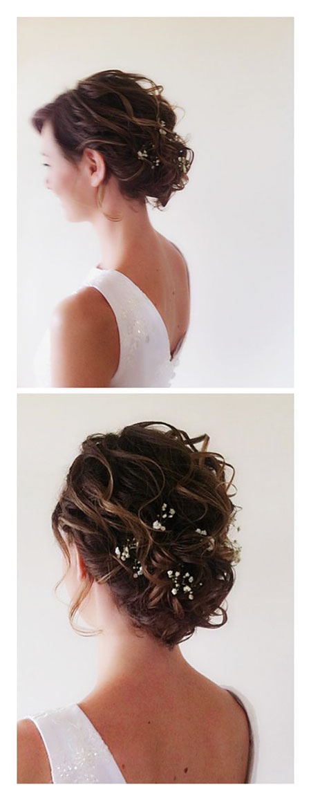 Medium Length Hair, Wedding Hair Length Medium