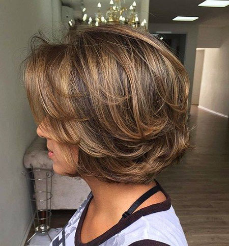 Short Haircut for Wavy Hair, Bob Short Hairtyle Hair