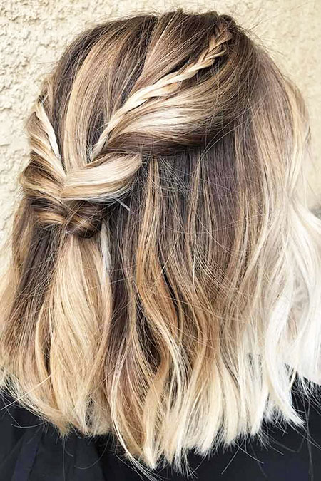 Summer Hair, Hair Blonde Balayage Woman