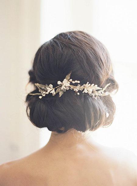 Bridal Hairtyles for Short Hair, Wedding Hair Bridal Updo