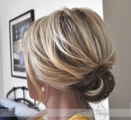 20 easy updos for short hair  short wedding hairstyles