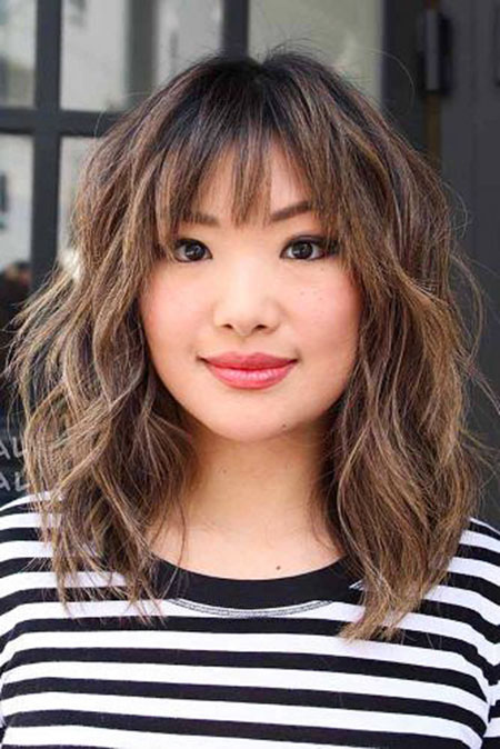 Messy Hair Bangs Medium