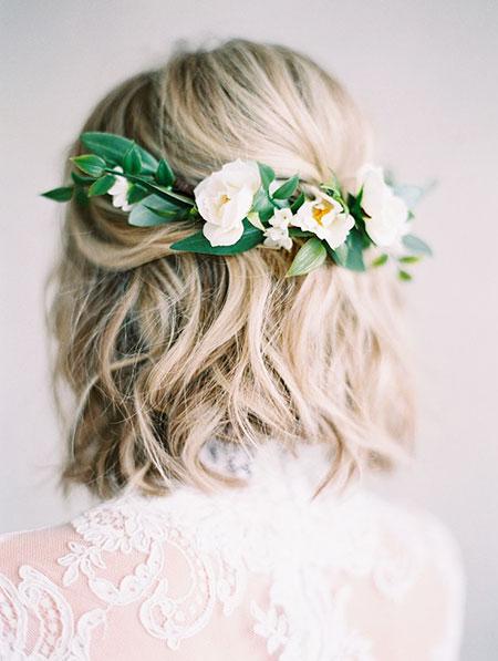 Wedding Hair Flower Hairtyles
