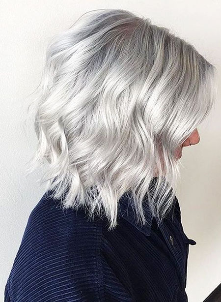 Blonde Hair Silver Color