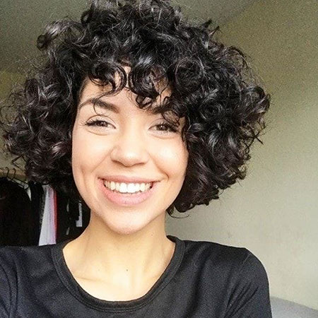 Curly Short Hair Hairtyles