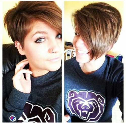Short Layered Haircuts for Women-10