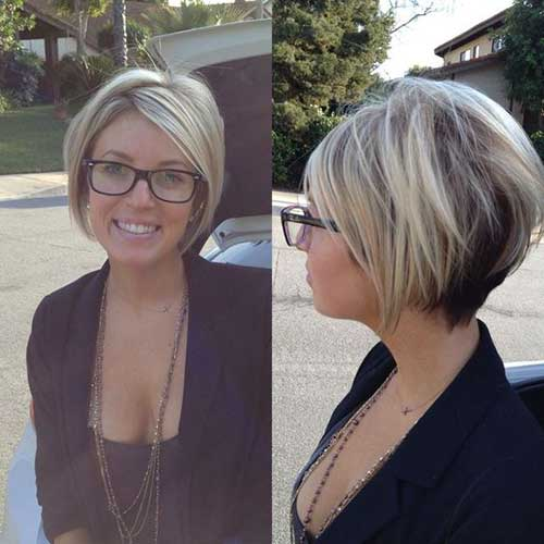 Short Layered Haircuts for Women-14