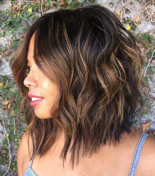 Short Layered Haircuts for Women-16