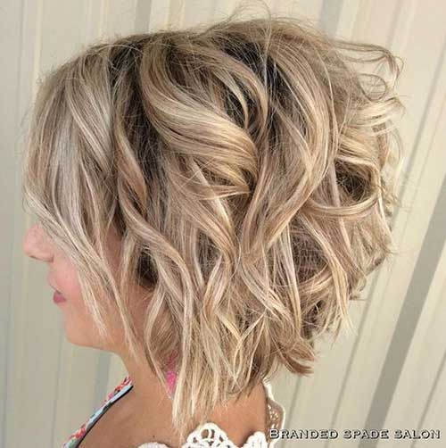 Short Layered Haircuts for Women-17